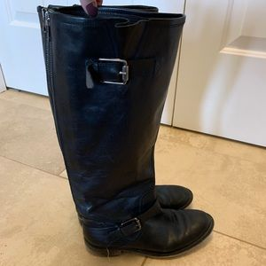 Vintage Aldo Riding Boots - Real Leather!